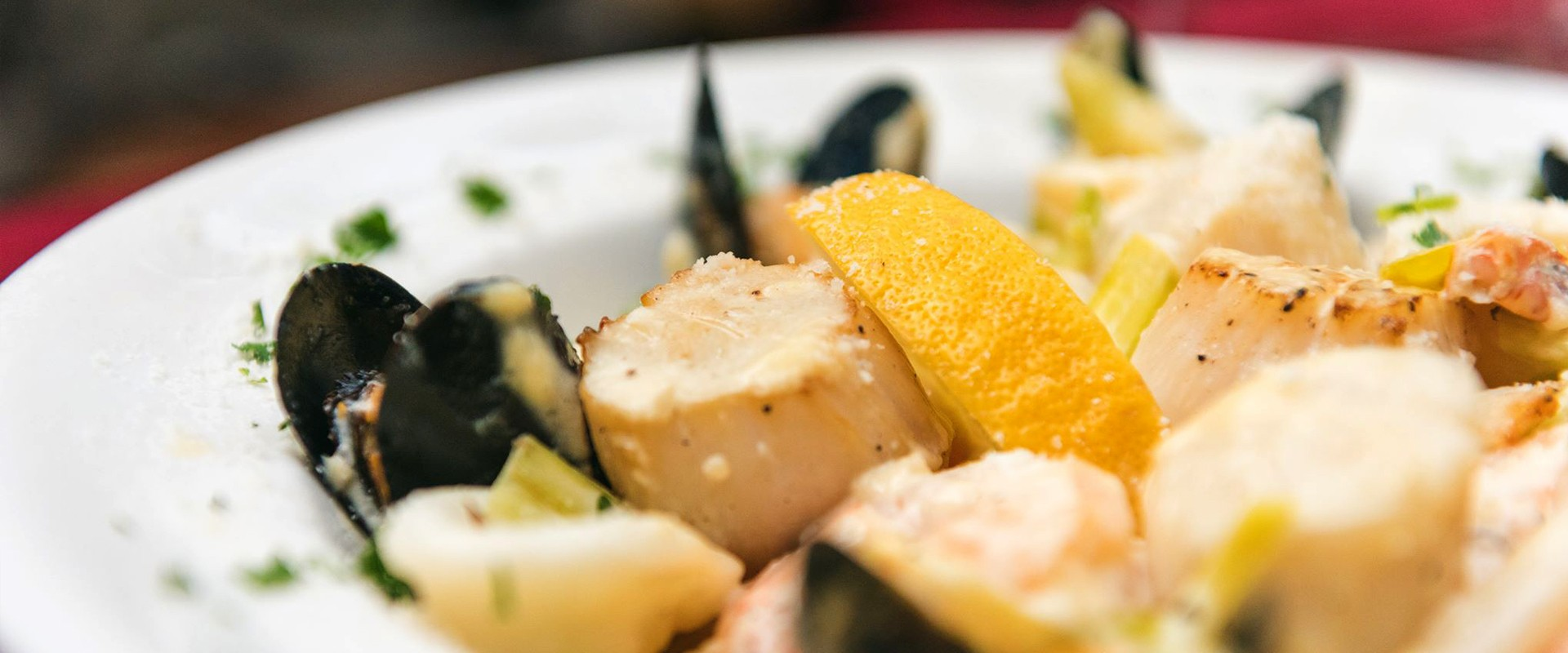 Menus Seafood En