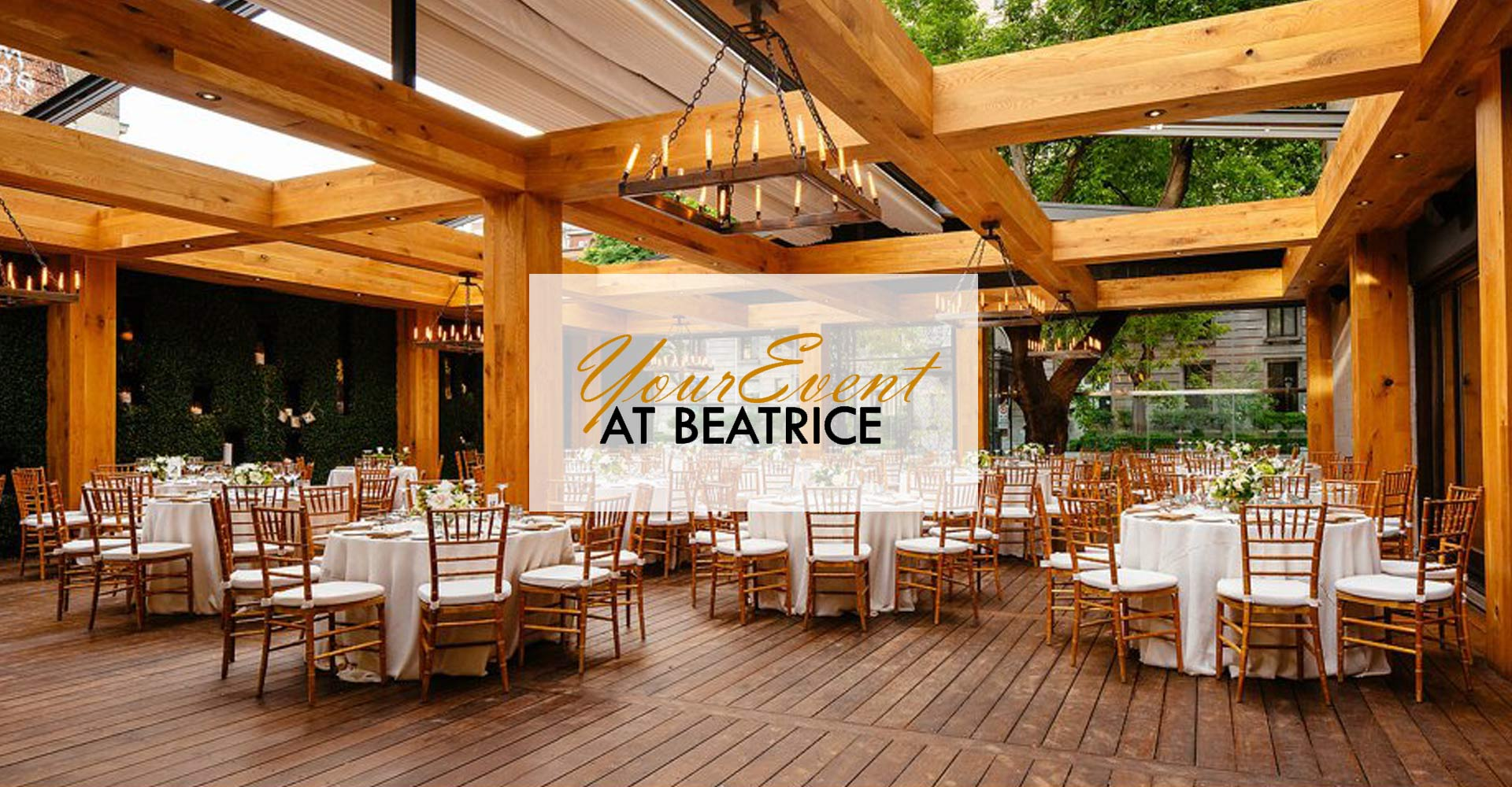 Montreal Restaurant Beatrice Upstairs Private Room