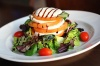 Caprese Tower - Fior Di Latte, Fresh Basil Layered In An Assortment Of Tomatoes, Drizzled With Balsamic Reduction