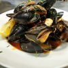 Fresh Steamed Mussels - Wine & Garlic Steamed Mussels Served In A White Or Red Sauce