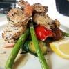 Grilled Jumbo Shrimp & Scallops