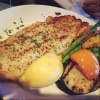 Pan Seared Basa - Lemon And Pepper Crusted Basa Served With Salad Or Grilled Seasonal Vegetables