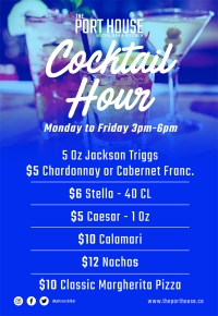 to Friday - Cocktail Hour