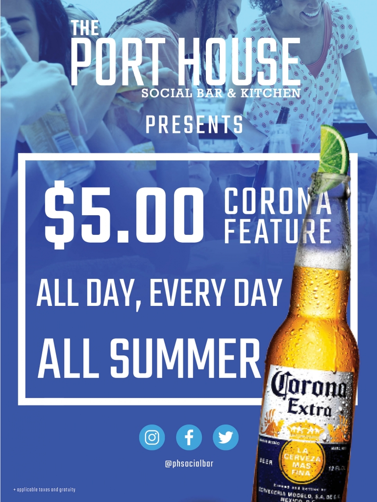 $5.00 Corona Feature
