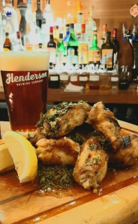 Tuesdays Chimi-Wings and Beer $25.00