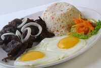 Filipino Breakfast from 9am to 11:30am