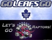 Leafs & Raptors!