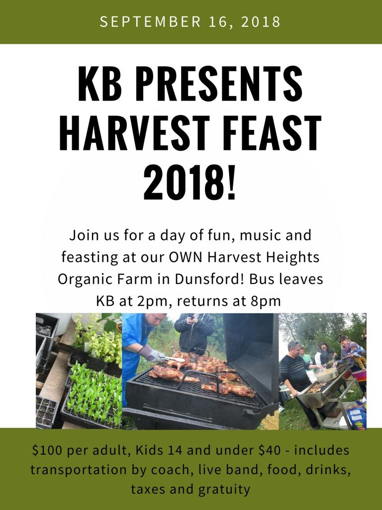 Harvest Feast!
