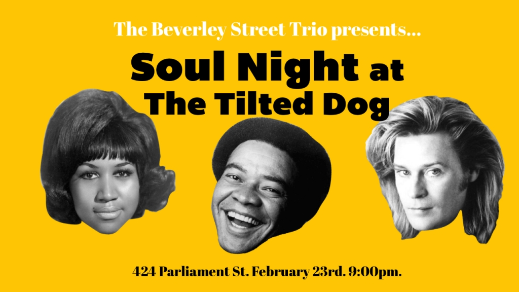 SOUL NIGHT AT THE TILTED DOG
