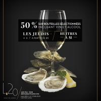 Les Jeudis huîtres à 1$