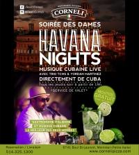 HAVANA NIGHTS : SOIRÉE DES DAMES!