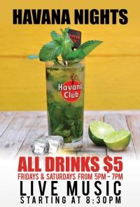 Havana Nights: Fridays and Saturday's at Mambo!
