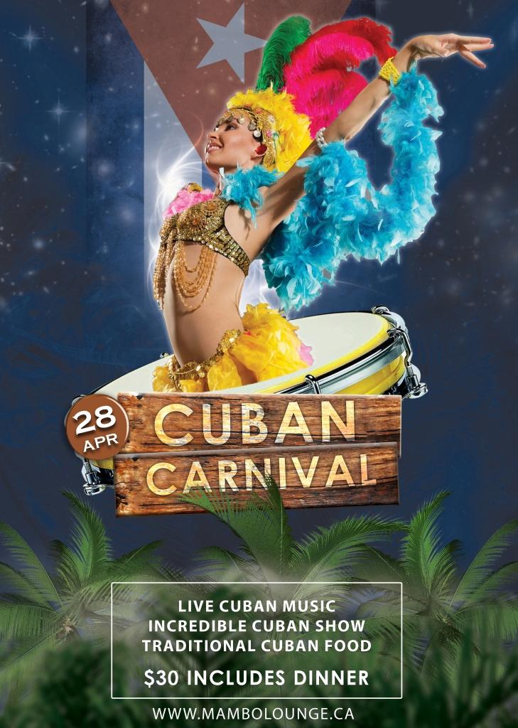 Cuban Carnival at Mambo!