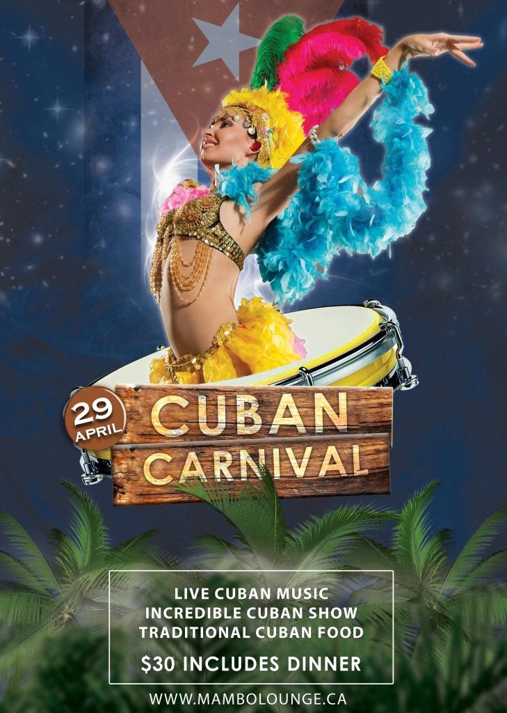 Cuban Carnivale at Mambo!