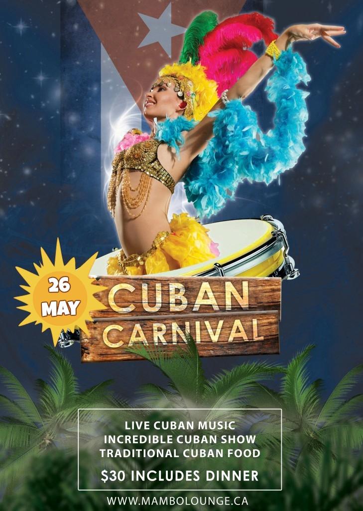 Cuban Carnivale at Mambo Lounge!