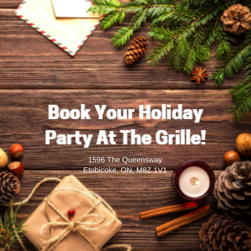 Book your Holiday Party at The Grille