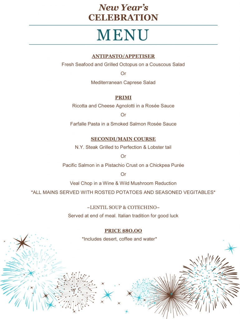 New Year's Eve at Spigolo