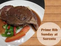 Sunday Prime Rib Special