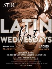 Latin Heat Wednesday's