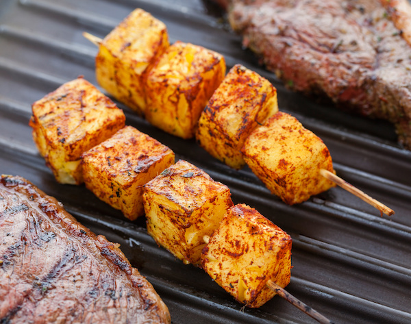 Think Outside the Grill - BBQ all your ingredients, including dessert\'s photo