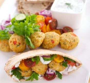 Latest food article: A fresh new twist on falafels