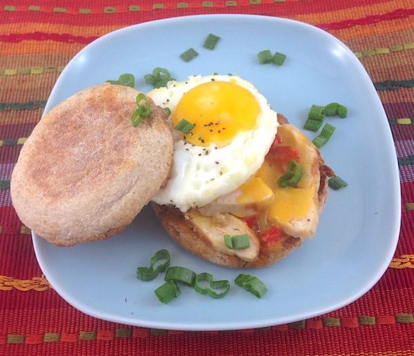 Acing the breakfast sandwich\'s photo