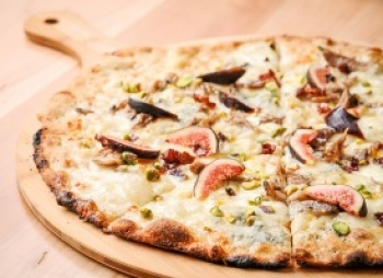 Angelos Coal Fired Pizza  is featured this month