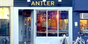 Alan Vernon gives Antler Kitchen & Bar  a rating of A+