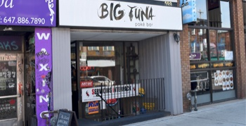 Alan Vernon gives Big Tuna Poké Bar  a rating of B