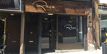 Alan Vernon gives Raca Caf� & Bar  a rating of C