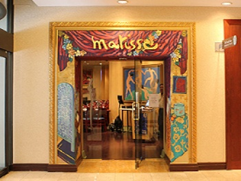 Matisse Restaurant & Bar at The Marriott Bloor Yorkville is featured this month