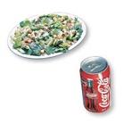 3. Salade césar + liqueur