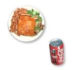 12. Hot chicken + frites + liqueur