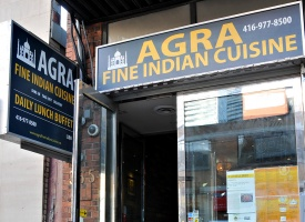 agra fine indian cuisine king 365 king st w toronto