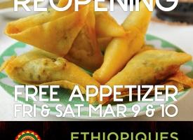 Ethiopiques Ethiopian Restaurant Logo