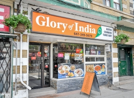 Glory of india roti cuisine 1407 queen st w toronto for Aroma fine indian cuisine toronto