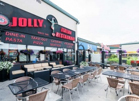 Jolly Restaurant Weston Menu