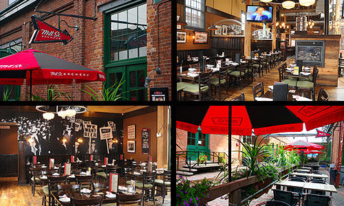 Mill St. Brew Pub - Toronto Groups / Functions