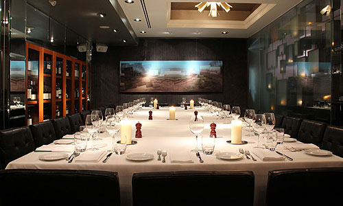 Group functions of mistura restaurant for Best private dining rooms mississauga