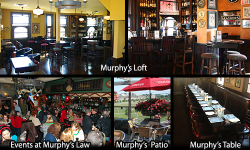 Murphys Law Pub and Kitchen Groups / Functions