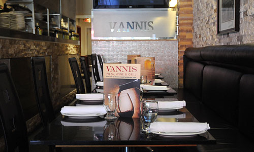 Vannis Pizza Grill & Wine Groups / Functions